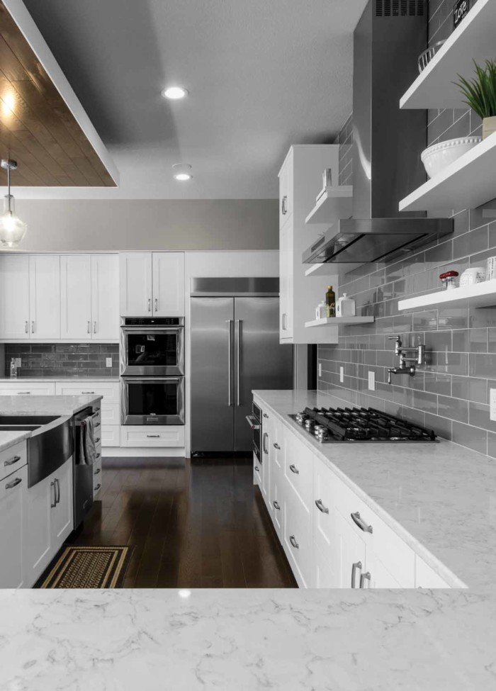Stromma White Klearvue Cabinetry