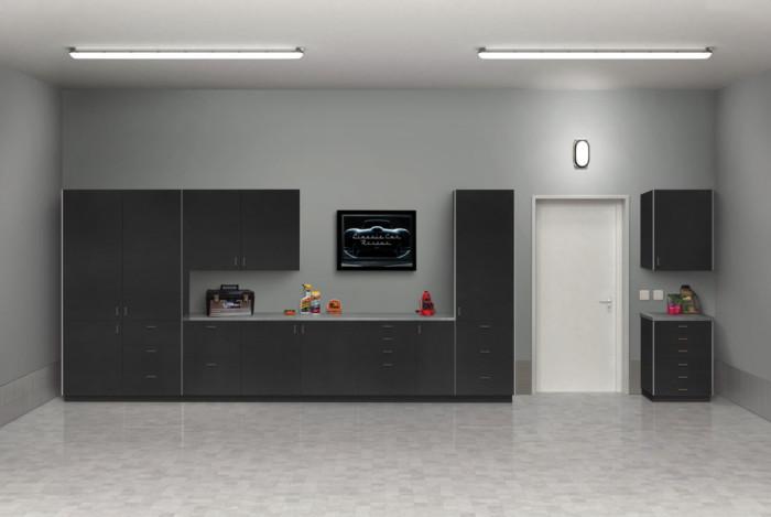 Grey Garage Beauty