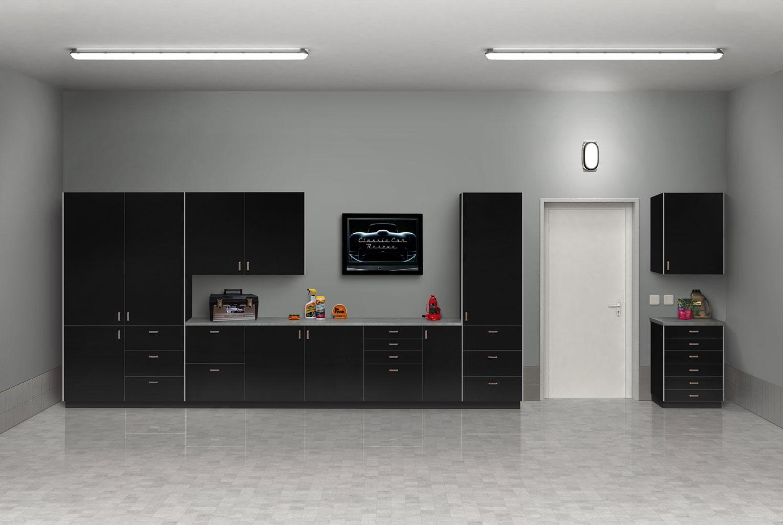 Black Garage Beauty